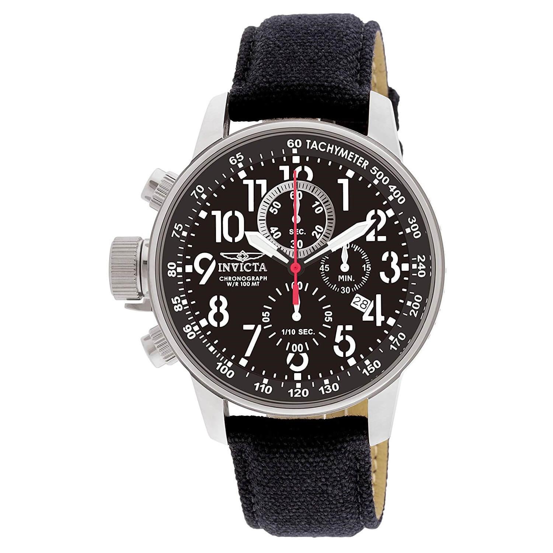 a47465534de4 Reloj para Hombre Invicta 15121 Acero inoxidable con correa de piel – Zshop  Colombia