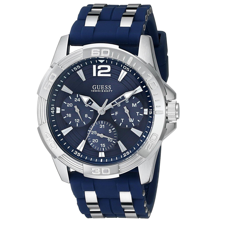 fd1971e55e92 Reloj GUESS U0366G2 Para Caballero deportivo de correa azul. – Zshop  Colombia