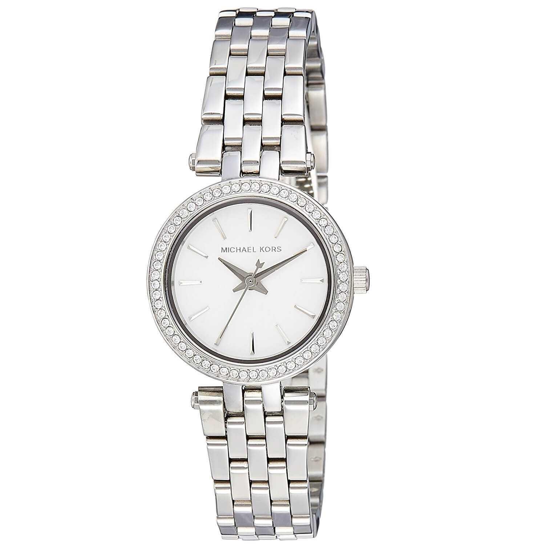 Reloj Petite Mujer Para Michael Kors Mk3294 Plateado Darci mNv0yOn8w
