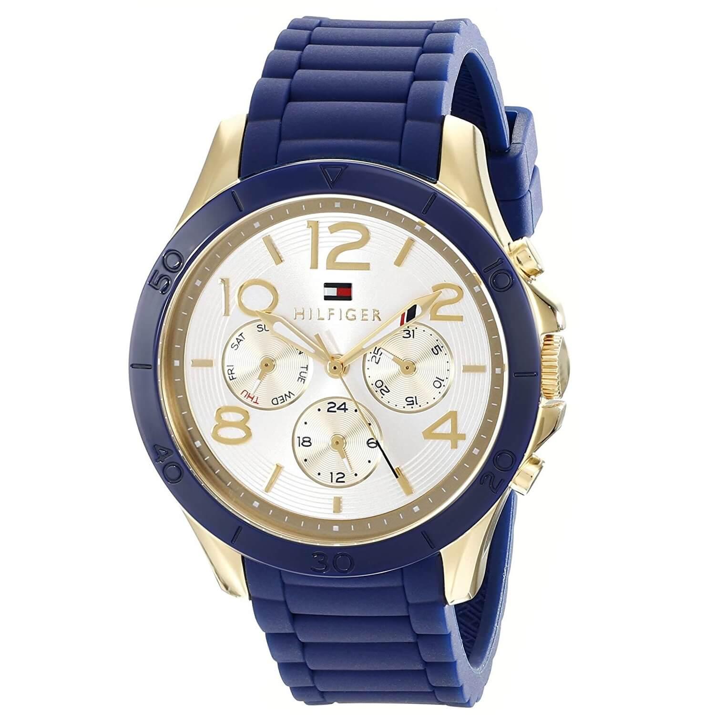 mil millones Sentimental trama  Reloj para Mujer Tommy Hilfiger 1781523 Silicona Azul,Tono Dorado  Deportivo, sofisticado. – Zshop Colombia