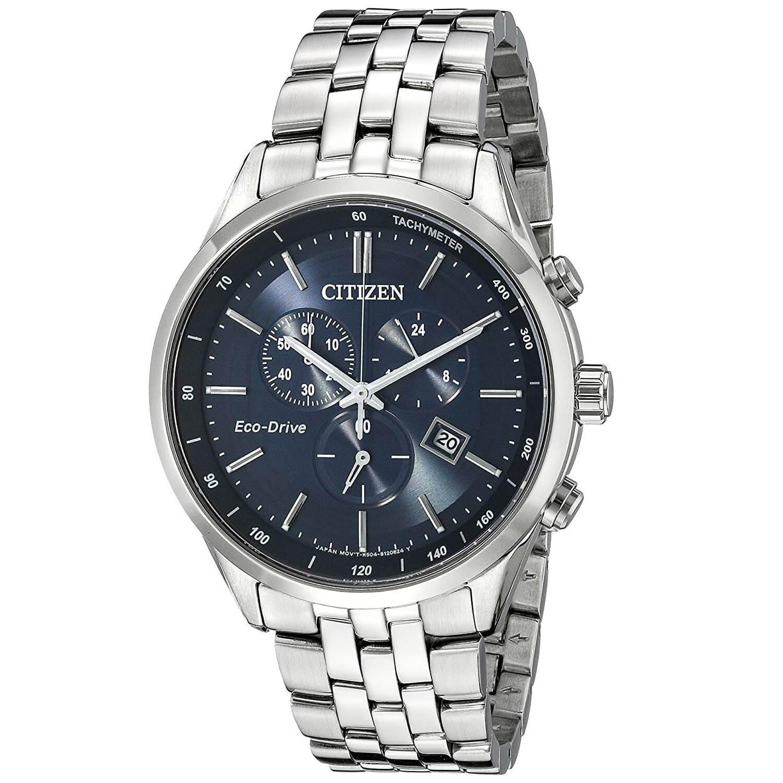 Reloj para Hombre Citizen AT2141 52L Acero inoxidable en tono plateado