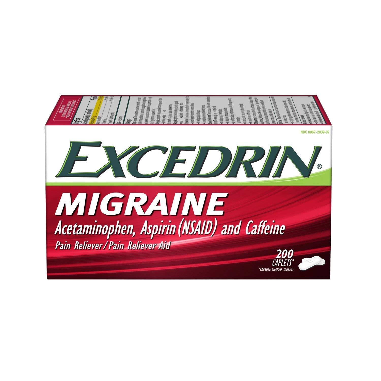 Excedrin migraña ardor estomacal