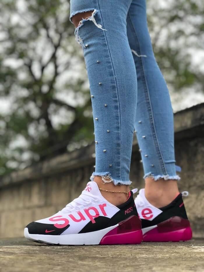 Tenis Zapatillas para Mujer Nike Air Max 270 Supreme. Oferta