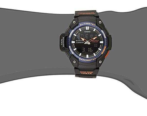 Reloj Sgw Casio Analógico SensorNegro 2bcf Con Para Hombres 450h Doble Digital eCxBrdoW