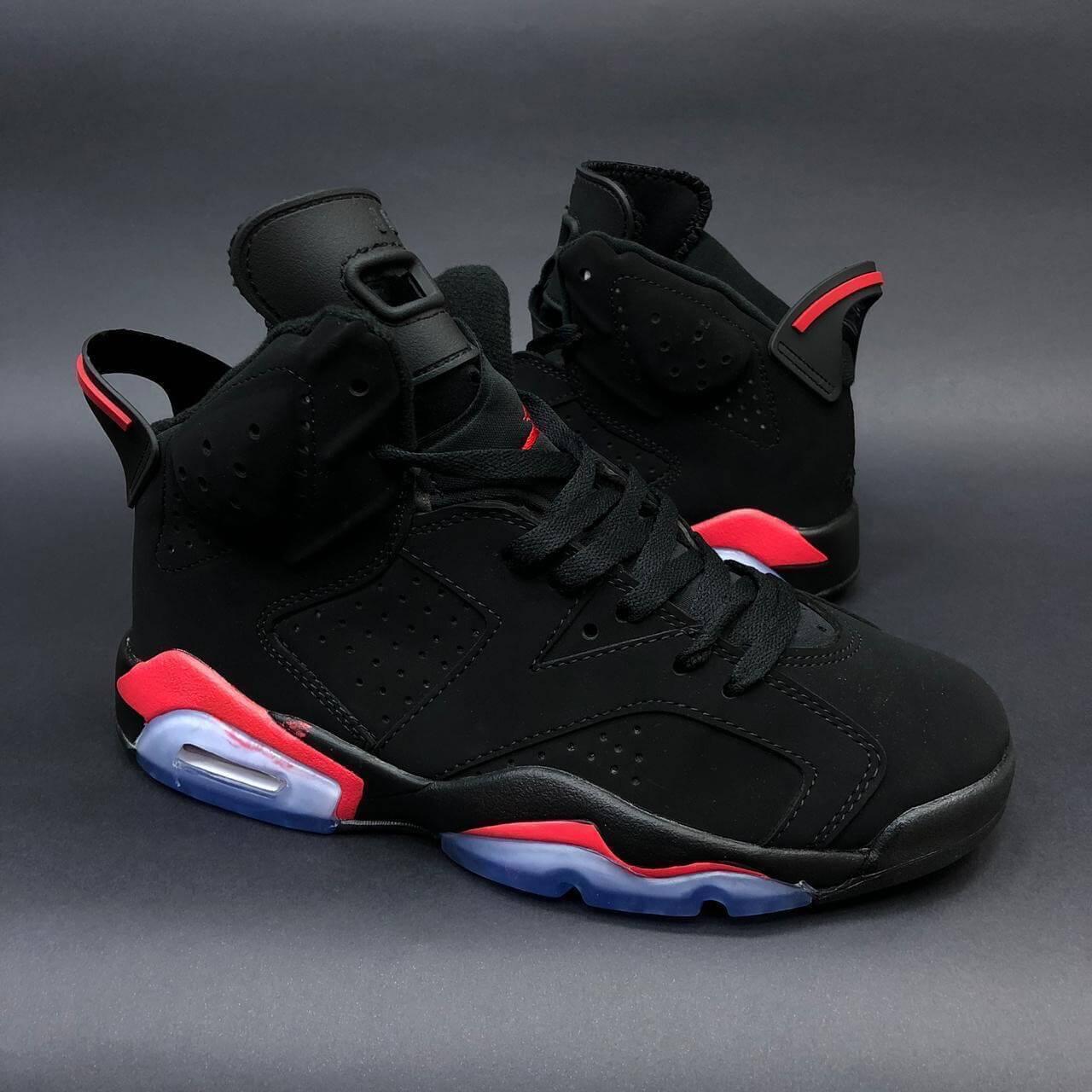 Zapatillas Tenis para Hombre Nike Air Jordan 6 Retro Negro