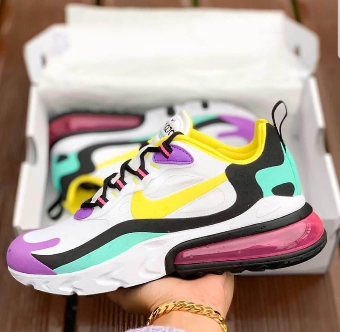 Zapatillas para Mujer Nike Air Max 270 React 100% Importadas 50% De  Descuento
