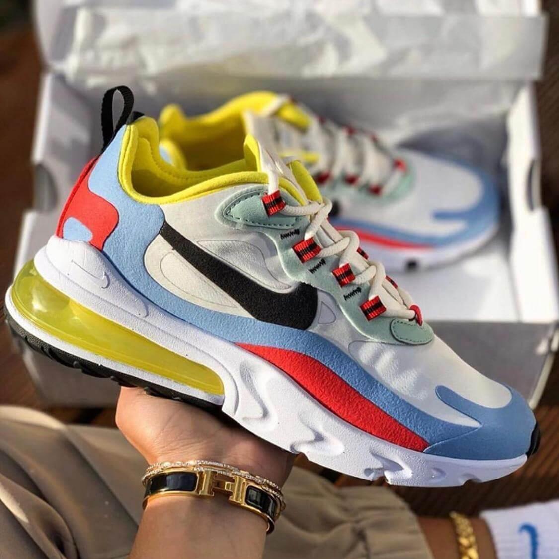 Zapatillas para Hombre Nike Air Max 270 React 100% Importadas 50% De  Descuento